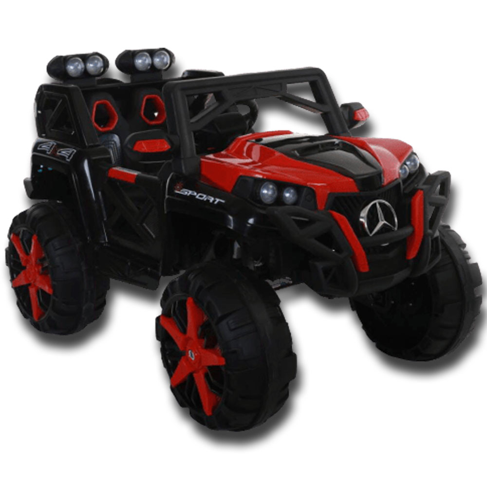 Kids Toys Big Size Jeep 2 Seater With Mobile App And 6 Motors For Kids 1 8 Age Fliptoy In