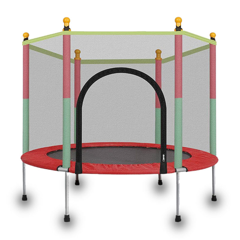55 inch trampoline with enclosure