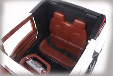 dual seat truck